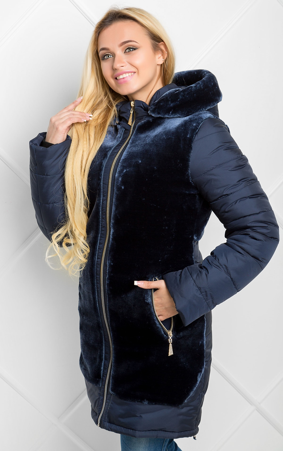 d152a8a024c Image Image Image. Распродажа Продано. Зимняя длинная женская куртка ...