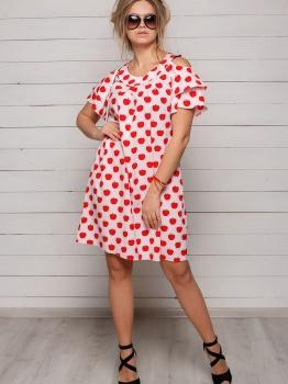 легкое платье Apple